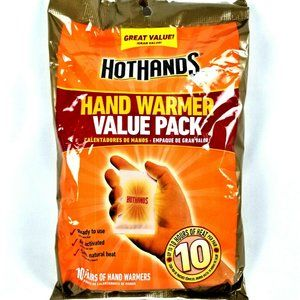 Hot Hands HotHands HAND WARMERS Value Pack 10 Pair
